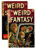 Golden Age (1938-1955):Science Fiction, Weird Fantasy #16/Weird Science #19 Group (EC, 1952-53) Condition:Average GD.... (Total: 2 Comic Books)
