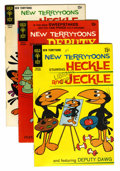 Bronze Age (1970-1979):Cartoon Character, New Terrytoons Library Copies Group (Gold Key, 1969-78) Condition:Average FN.... (Total: 28 Comic Books)