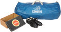 Football Collectibles:Others, 1960 Don Meredith Equipment Bag and Team Issued Cleats - From Team's Inaugural Season!...