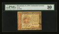 Colonial Notes:Continental Congress Issues, Continental Currency January 14, 1779 $55 PMG Very Fine 30....