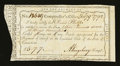 Colonial Notes:Connecticut, Connecticut Interest Payment. February 9, 1792. Very Fine-ExtremelyFine....