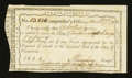 Colonial Notes:Connecticut, Connecticut Interest Payment. March 27, 1792. Very Fine-ExtremelyFine....