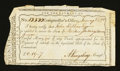 Colonial Notes:Connecticut, Connecticut Interest Payment. January 3, 1792. Very Fine....