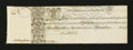 Colonial Notes:Maryland, Maryland 1733 1s/6d Choice About New....