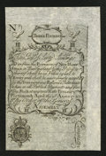 Colonial Notes:New Hampshire, New Hampshire April 1, 1737 Redated August 7, 1740 60s CohenReprint Extremely Fine....