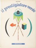 Books:First Editions, Bruno Munari. Two Illustrated Books, including: Il PrestigiatoreVerde. [Milan, Italy]: Mondadori, [1945]. First... (Total: 2Items)
