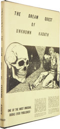 Books:First Editions, H. P. Lovecraft. The Dream Quest of Unknown Kadath. Buffalo:Shroud Publishers, 1955.. First edition, first printi...