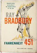 Books:Signed Editions, Ray Bradbury. Fahrenheit 451. Illustrated by Joe Mugnaini. New York: Ballantine Books, [1953]. . First edition. ...