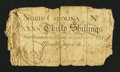 Colonial Notes:North Carolina, North Carolina April 4, 1748 30s Very Good....