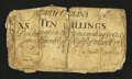 Colonial Notes:North Carolina, North Carolina March 9, 1754 10s Very Good-Fine....