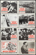 "Movie Posters:Documentary, Mein Kampf (Columbia, 1961). Lobby Card Set of 8 (11"" X 14""). Documentary.. ... (Total: 8 Items)"