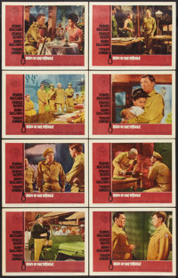 "Man in the Middle (20th Century Fox, 1964). Lobby Card Set of 8 (11"" X 14""). War. ... (Total: 8 Items)"
