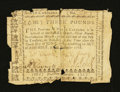 Colonial Notes:North Carolina, North Carolina December, 1768 £3 Very Fine....