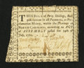 Colonial Notes:North Carolina, North Carolina July 14, 1760 40s Very Fine....