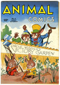 Golden Age (1938-1955):Funny Animal, Animal Comics #4 (Dell, 1943) Condition: FN/VF....