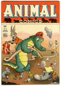 Golden Age (1938-1955):Funny Animal, Animal Comics #10 (Dell, 1944) Condition: VF+....