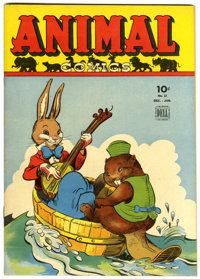 Animal Comics #12 (Dell, 1944) Condition: VF+