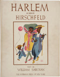 Books:First Editions, Al Hirschfeld and William Saroyan. Harlem as Seen byHirschfeld. New York: The Hyperion Press, 1941.. First ed...