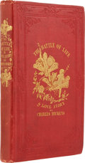 Books:First Editions, Charles Dickens. The Battle of Life. A Love Story. London:Bradbury & Evans, 1846.. First edition of Dickens' ...