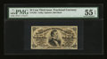 Fractional Currency:Third Issue, Fr. 1291 25¢ Third Issue PMG About Uncirculated 55 EPQ....