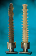 Zoology:Osteology, PAIR OF GIANT SAWFISH ROSTRA. ... (Total: 2 Items)