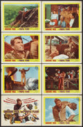 """Movie Posters:War, The Purple Plain (United Artists, 1955). Lobby Card Set of 8 (11"""" X14""""). War.. ... (Total: 8 Items)"""