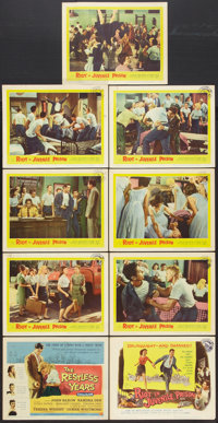 "Riot in Juvenile Prison Lot (United Artists, 1959). Lobby Card Set of 8 and Title Lobby Card (11"" X 14""). Crim..."