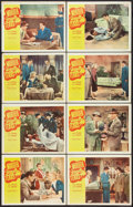 """Movie Posters:Crime, Murder Without Tears (Allied Artists, 1953). Lobby Card Set of 8 (11"""" X 14""""). Crime.. ... (Total: 8 Items)"""