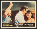 "Movie Posters:James Bond, Goldfinger (United Artists, 1964). Lobby Card (11"" X 14""). JamesBond.. ..."