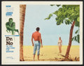 "Movie Posters:James Bond, Dr. No (United Artists, 1962). Lobby Card (11"" X 14""). James Bond....."