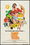 "Movie Posters:Sexploitation, Summer School Teachers (New World, 1975). One Sheet (27"" X 41"").Sexploitation.. ..."