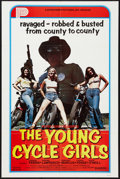 "Movie Posters:Bad Girl, The Young Cycle Girls (Peter Perry Pictures, 1977). One Sheet (27""X 41""). Bad Girl.. ..."
