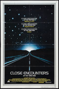 """Movie Posters:Science Fiction, Close Encounters of the Third Kind (Columbia, 1977). One Sheet (27"""" X 41"""") and Lobby Card (11"""" X 14""""). Science Fiction.. ... (Total: 2 Items)"""