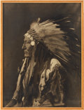 American Indian Art:Photographs, LABAN LITTLE WOLF. c. 1913...