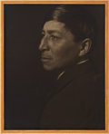 American Indian Art:Photographs, CHIEF OSHKOSH. c. 1913...
