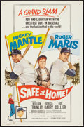 """Movie Posters:Sports, Safe at Home (Columbia, 1962). One Sheet (27"""" X 41""""). Sports.. ..."""