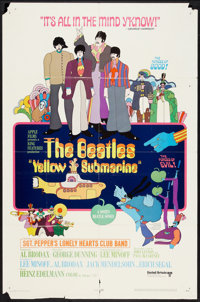 """Yellow Submarine (United Artists, 1968). One Sheet (27"""" X 41"""") and Pressbook (Multiple Pages, 13.25"""" X 18..."""