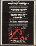 """Movie Posters:Adult, The Devil in Miss Jones (MB Productions, 1973). Poster (22"""" X 28""""). Adult.. ..."""
