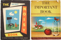 Books:First Editions, Margaret Wise Brown. Two First Edition Children's Books, including:The Important Book. 1949. Price-clipped dust... (Total: 2Items)