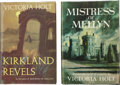 Books:First Editions, Victoria Holt. Two First Editions, including: KirklandRevels. Garden City: Doubleday & Company, Inc., 1962.Review ... (Total: 2 Items)