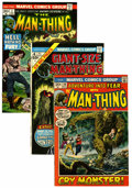 Bronze Age (1970-1979):Horror, Man-Thing Group - Western Penn pedigree (Marvel, 1972-75)Condition: Average NM-.... (Total: 15 Comic Books)