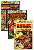 Bronze Age (1970-1979):Miscellaneous, Korak, Son of Tarzan Group - Western Penn pedigree (DC, 1972-76)Condition: Average NM-.... (Total: 12 Comic Books)