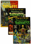 Golden Age (1938-1955):Horror, Adventures Into Darkness #8-14 Group (Standard, 1954).... (Total: 7Comic Books)