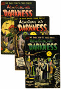 Golden Age (1938-1955):Horror, Adventures Into Darkness #5-7 Group (Standard, 1952-54).... (Total:3 Comic Books)