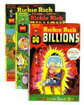 Bronze Age (1970-1979):Cartoon Character, Richie Rich Billions File Copies Group (Harvey, 1974-82) Condition: Average VF/NM.... (Total: 45 Comic Books)