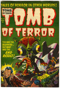 Golden Age (1938-1955):Horror, Tomb of Terror #14 (Harvey, 1954) Condition: FN/VF....