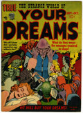 Golden Age (1938-1955):Horror, Strange World of Your Dreams #2 (Prize, 1952) Condition: FN....