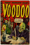 Golden Age (1938-1955):Horror, Voodoo #4 (Farrell, 1952) Condition: FN....