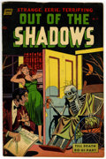 Golden Age (1938-1955):Horror, Out Of The Shadows #9 (Standard, 1953) Condition: FN....