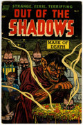 Golden Age (1938-1955):Horror, Out Of The Shadows #8 (Standard, 1953) Condition: VG/FN....
